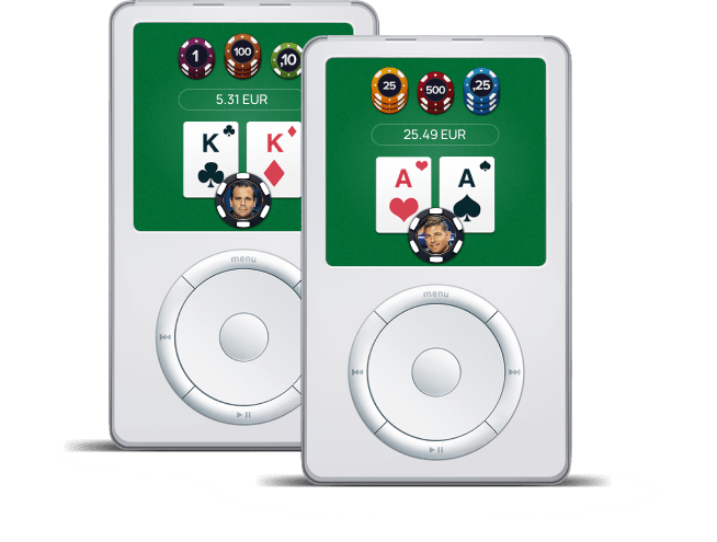 ipods poker network